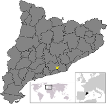 Location of Olesa de Bonesvalls.png