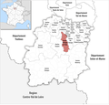 Locator map of Kanton Brétigny-sur-Orge 2019.png