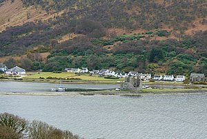 Isle of Arran - Lochranza village and castle