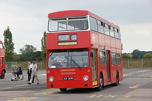 London Transport bus DMS2357 (OJD 357R), 2011 North Weald bus rally.jpg