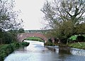 Long Meadow Bridge (No 87), Trent and Mersey Canal, Staffordshire - geograph.org.uk - 598553.jpg