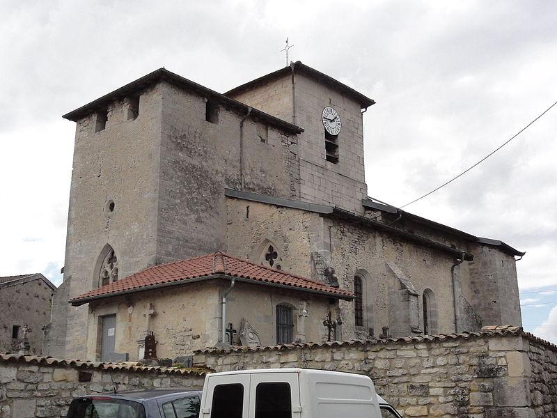 Longeaux (Meuse) église Saint-Gengoult