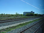 Looking out the left window on a trip from Union to Pearson, 2015 06 06 A (414) (18454966730).jpg