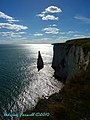 Looking toward Swanage from Old Harry - the Pinnacle - panoramio.jpg