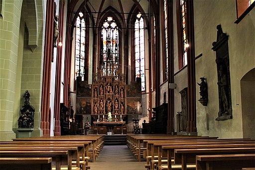 Lorch Rhg. St. Martin Hauptschiff Chor