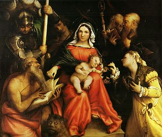 painting by Lorenzo Lotto