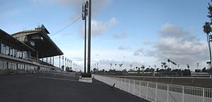 Los Alamitos Race Course - Grandstand