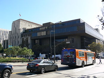 Los Angeles Times Building, downtown Los Angeles
