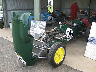 1958 Monaco Grand Prix - Lotus 12, chassis no 353, (pictured above in 2010) was driven by Graham Hill in his Grand Prix debut at Monaco in 1958