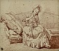 Louis-Roland Trinquesse A young woman on a sofa.jpg