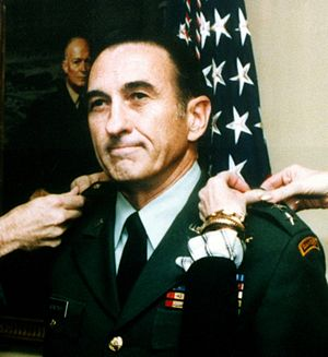 Louis C. Menetrey - Menetrey is promoted to lieutenant general in 1982.