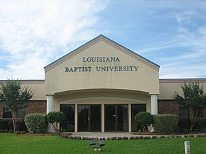 Louisiana Baptist University - Louisiana Baptist University is located off Interstate 20 in Shreveport.