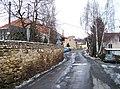 Lounín, silnice, domy čp. 3, 2, 15.jpg