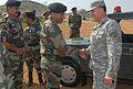 Lt. Gen. Benjamin R. Mixon greets Indian Army Lt. Gen. Rajinder Singh.jpg
