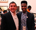 Lt. Gov. Jay Dardenne and Willie Jones at the Louisiana Soundtrack Experience, Shreveport.jpg