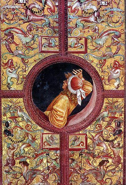 Datei:Luca signorelli, cappella di san brizio, poets, empedocle.jpg