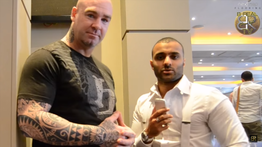 Lucas Browne Australian boxer and MMA fighter