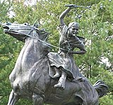 Statue of Sybil Ludington