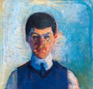 Ludvig Karsten - Self portrait (1912)