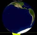 Lunar eclipse from moon-2099Apr05.png