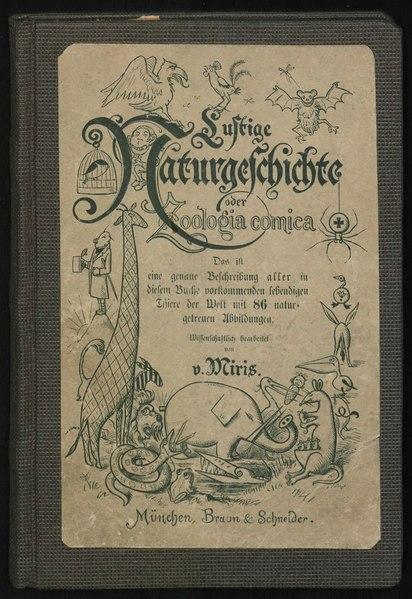 File:Lustige Naturgeschichte oder Zoologia comica.djvu