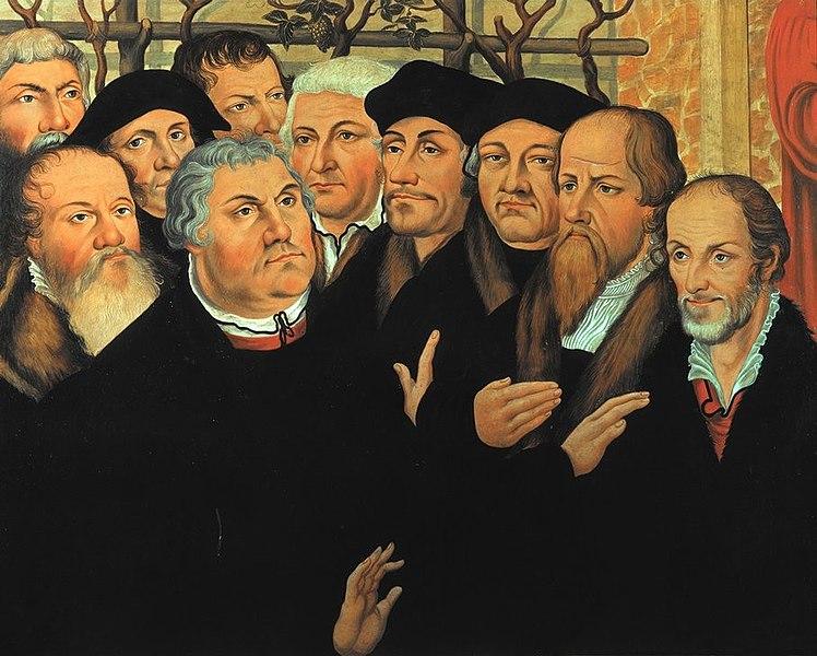 File:Luther, M. Reformatorengruppe n. Cranach.jpg