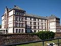 Lycée professionnel André Siegfried de Haguenau (ancienne caserne) vu du Quai des Pêcheurs.jpg