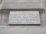 Lyon 2e - Plaque naissance Général René Chambe rue Jarente (janv 2019).jpg