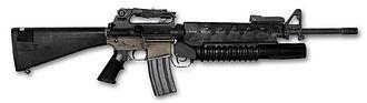 Bravo Two Zero - M16/M203 assault rifle