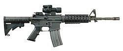 """רובה סער M4A1 קרבין """"פלאט-טופ"""""""