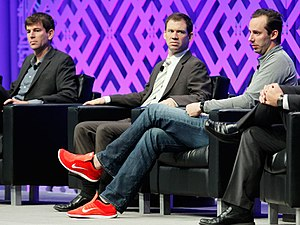 Anthony Levandowski - Levandowski (right) at MCE 2016