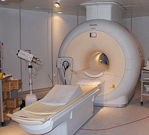 English: Philips MRI in Sahlgrenska Universite...