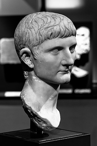 AD 15 - Bust of Germanicus (15 BC – AD 19)