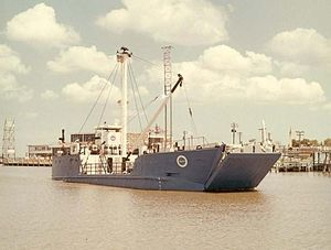 MV Retriever in Clear Creek Channel (S63-8698).jpg