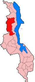 Location of Mzimba District in Malawi