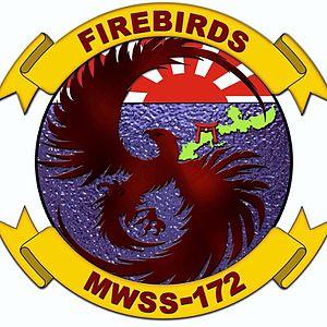 Marine Wing Support Squadron 172 - MWSS-172 Insignia