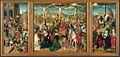 Maître de Delft Triptyque Crucifixion - National Gallery.jpg