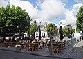 Maastricht - Vrijthof - terrasjes op het plein ivm coronacrisis 20200607.jpg