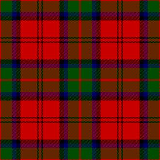 154 (Scottish) Regiment RLC - Image: Mac Duff tartan (Vestiarium Scoticum)