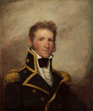 "Thomas Macdonough - Captain Thomas Macdonough, USN ""The Hero of Lake Champlain"" (Gilbert Stuart)"