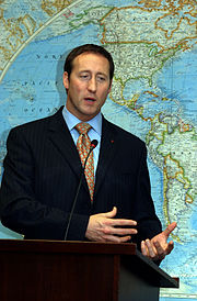 the Honourable Peter MacKay Defence Minister and Minister of the Atlantic Canada Opportunities Agency attended the official launch of ceremonies. This image is a file photo of Peter MacKay's visit to Brazil. Image: Elza Fiúza.