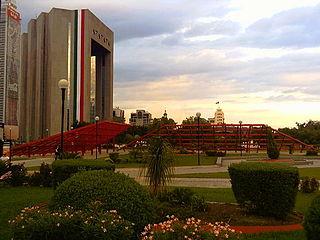 square in Monterrey, Mexico