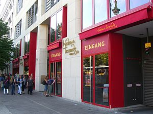 Madame Tussauds - Entry of Madame Tussauds in Berlin