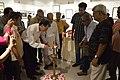 Madhab Mukhopadhyay Lighting Inaugural Lamp - Group Exhibition - PAD - Kolkata 2016-07-29 5371.JPG