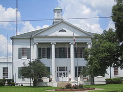 Madison Parish Courthouse in Tallulah