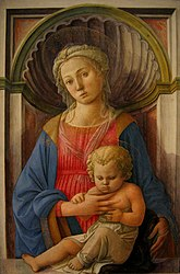 Filippo Lippi: Madonna and Child 1440s