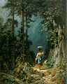 Maedchen mit Ziege im Gebirgstal I (Carl Spitzweg).jpg