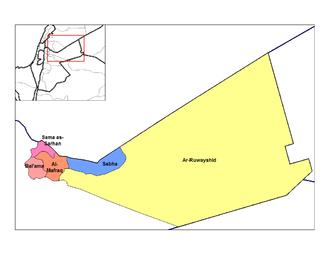 Mafraq Governorate - Nahiyahs of Mafraq