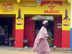 Maggi - Maggi advertisement in Senegal