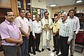 Mahesh Sharma With Anil Shrikrishna Manekar And Other NCSM Senior Officers - NCSM - Kolkata 2017-07-11 3569.JPG